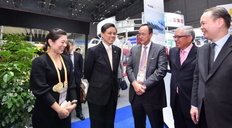 Opportunities beyond the coastal provinces in China Chan Chun Sing - Logistics Institute of Singapore (LIS)