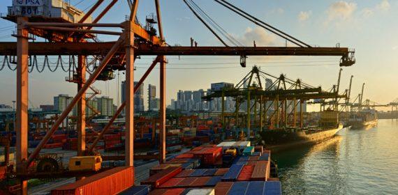 Singapore Malaysia Port